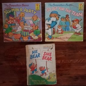 The Berenstain Bears Childrens Book 1974